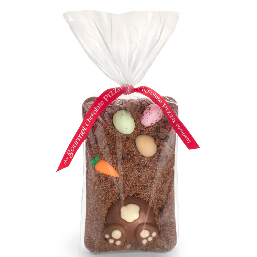 Our Easter Bunny Bar features a sugar carrot , chocolate bunny, and candy coated chocolate eggs